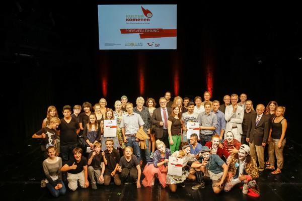 Preisverleihung KulturKometen 2015